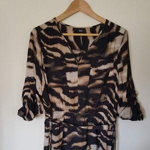 Mossimo Animal Print Dress Size XL - Has Pockets!